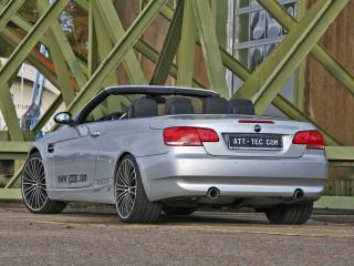 обои ATT BMW 335i Cabrio (E93) сзади фото