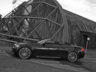 обои ATT BMW M3 Cabrio Thunderstorm бок фото