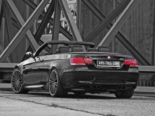обои ATT BMW M3 Cabrio Thunderstorm зад фото