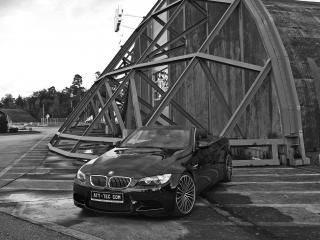 обои ATT BMW M3 Cabrio Thunderstorm передок фото