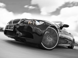 обои ATT BMW M3 Cabrio Thunderstorm скорость фото
