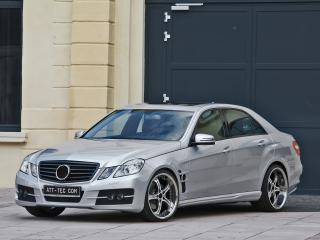 обои ATT Mercedes-Benz E-Klasse (W212) боком фото