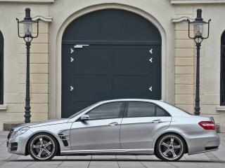 обои ATT Mercedes-Benz E-Klasse (W212) сбоку фото