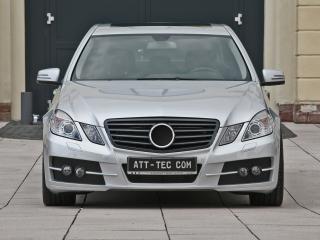 обои ATT Mercedes-Benz E-Klasse (W212) спереди фото