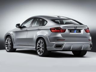 обои Hartge BMW X6 (Е71) серебристый фото