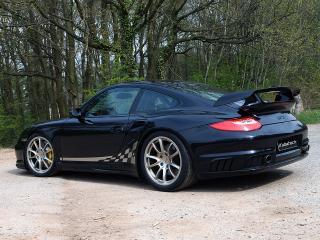 обои Kubatech Porsche 911 GT2 (997) боком фото