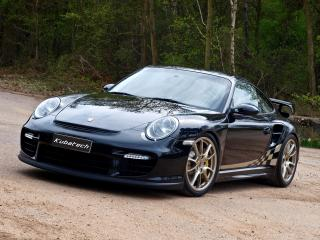 обои Kubatech Porsche 911 GT2 (997) черный фото