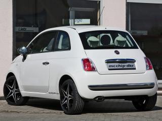 обои Mcchip-DKR Fiat 500 зад фото