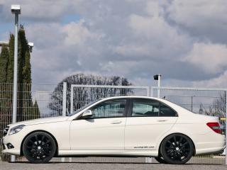 обои Mcchip-DKR Mercedes-Benz C200 CDI (W204) бок фото