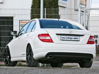 обои Mcchip-DKR Mercedes-Benz C200 CDI (W204) сзади фото