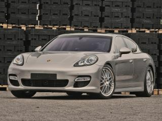 обои Mcchip-DKR Porsche Panamera Turbo (970) передок фото