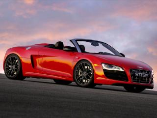 обои STaSIS Engineering Audi R8 V10 Spyder Extreme Edition сбоку фото