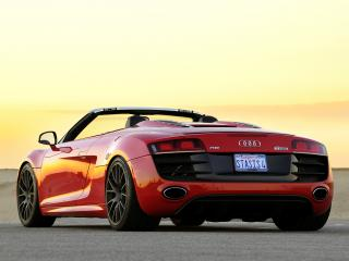 обои STaSIS Engineering Audi R8 V10 Spyder Extreme Edition сзади фото