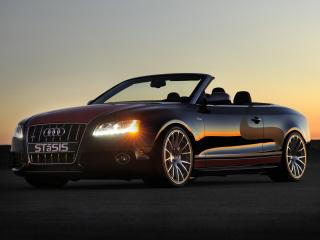 обои STaSIS Engineering Audi S5 Cabriolet Challenge Edition фары фото