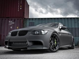 обои Active Autowerke BMW M3 Coupe (E92) бампер черный фото