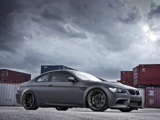 обои Active Autowerke BMW M3 Coupe (E92) бок матовый фото