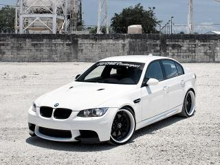 обои Active Autowerke BMW M3 Sedan (E90) 2010 боком фото