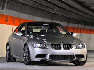 обои APP Europe BMW M3 StopTech Trackday Edition (E92) черный фото