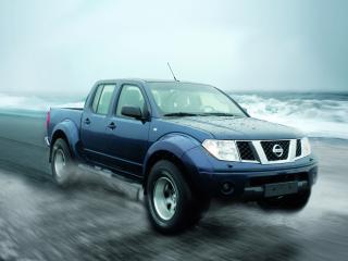обои Arctic Trucks Nissan Navara Double Cab (D40) океан фото