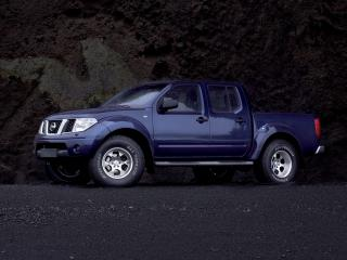 обои Arctic Trucks Nissan Navara Double Cab (D40) синий фото
