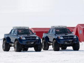 обои Arctic Trucks Toyota Hilux AT44 зима фото