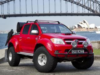 обои Arctic Trucks Toyota Hilux Invincible AT38 мост фото