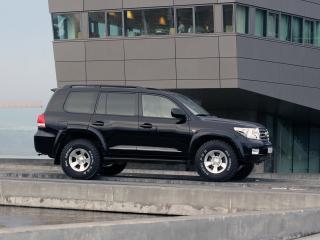 обои Arctic Trucks Toyota Land Cruiser 200 вышка фото