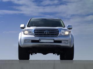 обои Arctic Trucks Toyota Land Cruiser 200 небо фото