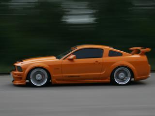обои Geiger Mustang GT 520 сбоку фото