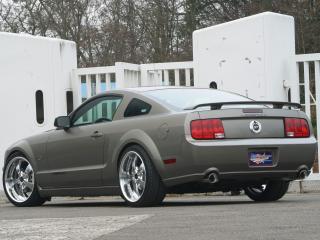обои Geiger Mustang GT сзади фото