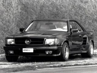 обои Gemballa Mercedes-Benz 500SEC Widebody (C126) спереди фото