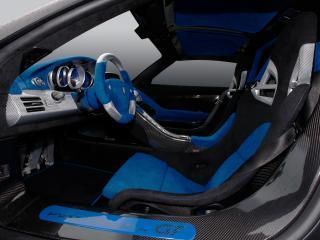 обои Gemballa Mirage GT Matt Edition салон сбоку фото