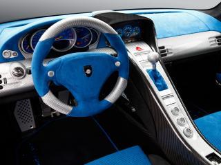 обои Gemballa Mirage GT Matt Edition салон фото