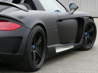 обои Gemballa Mirage GT Matt Edition черный фото