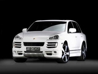 обои Je Design Porsche Cayenne (957) боком фото