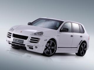 обои Je Design Porsche Cayenne Progressor (957) белый фото