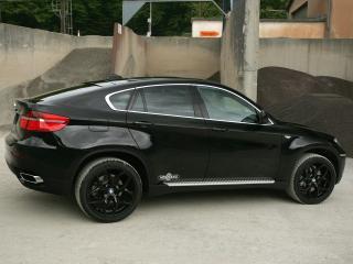 обои Vogtland BMW X6 (Е71) бок фото