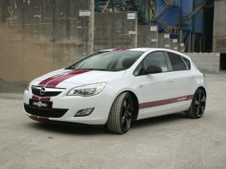 обои Vogtland Opel Astra 5-door (J) боком фото