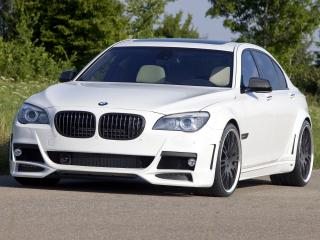 обои Lumma Design BMW 7 Series (F01) спереди фото