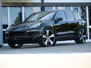 обои Lumma Design Porsche Cayenne Diesel (958) черный фото
