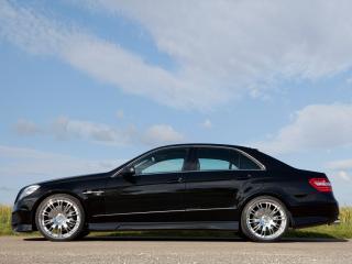 обои Lumma Mercedes-Benz E50 CLR (W212) бок фото