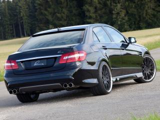обои Lumma Mercedes-Benz E50 CLR (W212) боком фото