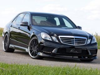 обои Lumma Mercedes-Benz E50 CLR (W212) передок фото