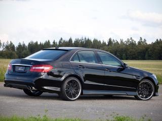 обои Lumma Mercedes-Benz E50 CLR (W212) сбоку фото