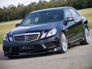 обои Lumma Mercedes-Benz E50 CLR (W212) черный фото