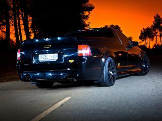 обои Lupini Chevrolet SuperUte зад фото