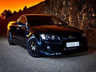 обои Lupini Chevrolet SuperUte черный фото