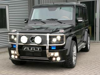 обои ART Mercedes-Benz G-Klasse (W463) черный фото