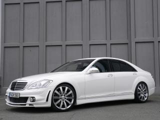 обои ART Mercedes-Benz S-Klasse (W221) красивый фото