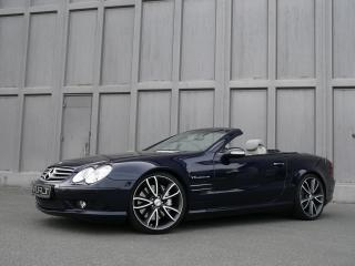 обои ART Mercedes-Benz SL-Klasse 2008 боком фото